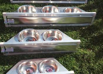 Miski obrotowe aluminiowe karmidła