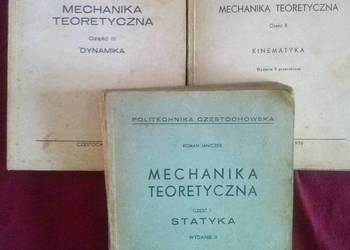 Mechanika teoretyczna cz. 1,2,3Janeczek