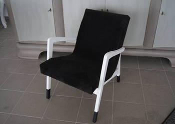 ***Fotel skandynawski PRL po renowacji***
