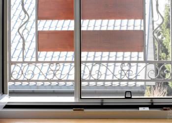 MOSKITIERA na okno kołnierzowa, profil aluminiowy
