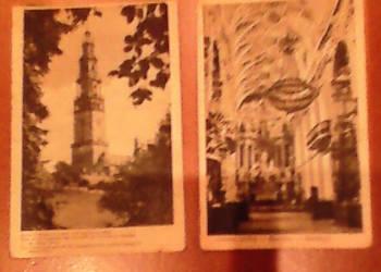 Stare pocztówki z 1948 roku