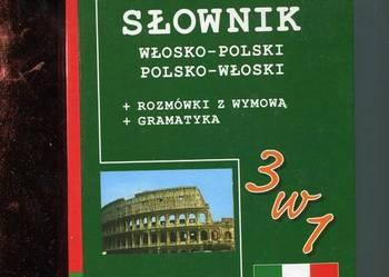 Słownik włosko-polski polsko-włoski =rozmówki z wymową+