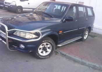 Musso 2.9TDI 4x4 silnik Mercedesa lub zamienie