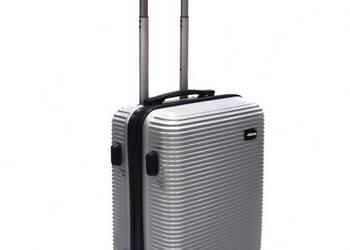 Walizka podróżna kabinowa kółka bagaż samolot lekka prezent