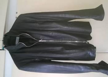 kurtka skórzana czarna