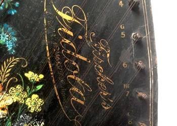 cytra Fidola Fischera XIX w 4 akordowa, 60 strunowa