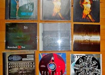 Płyty CD TRex Gravity Kills Noisex Unit187 Coal Chamber