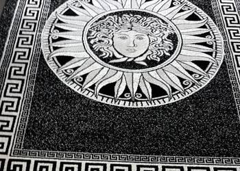 Dywan 160X230 Czarno-Biały Styl Versace NOWOŚĆ