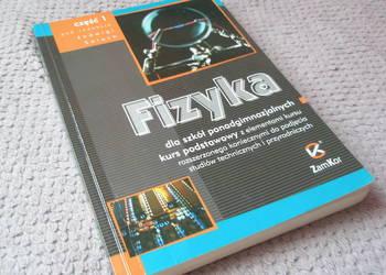 Fizyka sla szkół ponadgimnazjalnych  cz.1