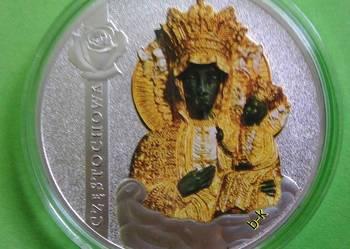 CZĘSTOCHOWA SHRINES OF EUROPE  Złote Banknoty Medal Moneta