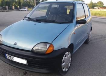 Fiat seicento young.Fajny samochodzik
