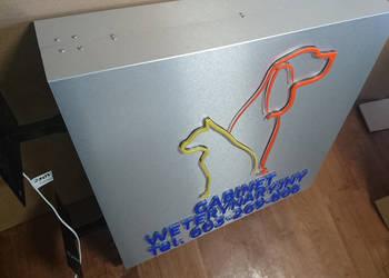 Świetlny KASETON dwustronny LED Semafor 100x100 cm