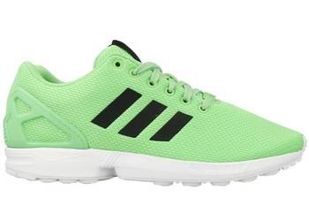 NOWE Adidas ZX Flux ładna zieleń ! r. 45, wkładka 29 cm !