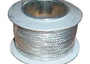 Plecionka drut miedziany cynowany 3...6mm - 25m