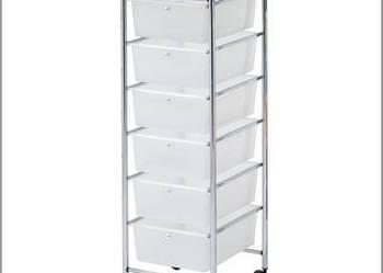 Regał szafka wózek na kółkach z 6 SZUFLADAMI MX3052 Metlex