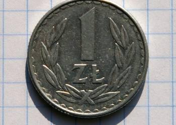 1 ZŁOTY 1986 ROK - POLSKA