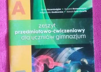 Świat fizyki 1A zeszyt ćwiczeń gimnazjum ZamKor