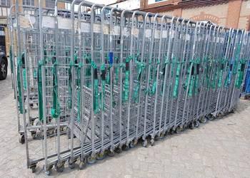 Wózek TRANSPORTOWY SIATKOWY Rollkontener 80x57x190cm-500kg Dzierżoniów