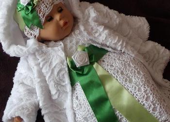 Komplet do chrztu dla dziewczynki Kaja - sukienki do chrztu